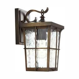 Home Decorators Collection 1-Light Golden Bronze Outdoor 6 i