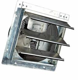 Iliving 12 Inch Variable Speed Shutter Exhaust Fan, Wall-Mou