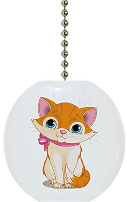 Carolina Hardware and Decor 1829F Cute Kitten Pink Ribbon An