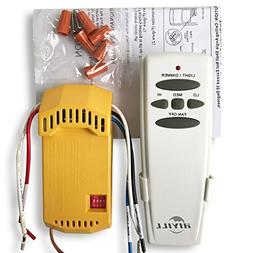 HiYill Universal Ceiling Fan Wireless Remote Control Kit wit