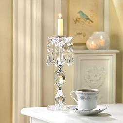 """2 Chandelier candelabra 11"""" tall candlestick Candle Holder w"""