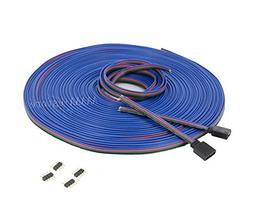 4 Color 20m 20m/65.6ft RGB Extension Cable Line With Full Co