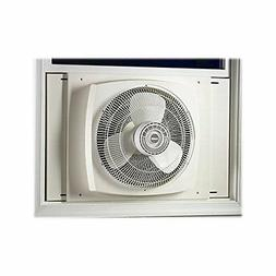 Lasko REVERSIBLE ENERGY EFFICIENT Window Fan with All NEW Ex