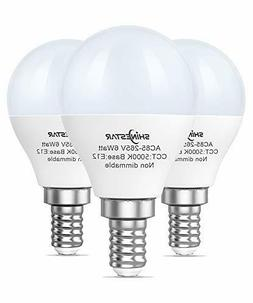 3-Pack Ceiling Fan Light Bulbs 60watt Equivalent, 5000K Dayl