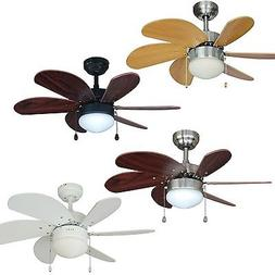 30 Inch Ceiling Fan with Light Kit - Oil Rubbed Bronze, Sati