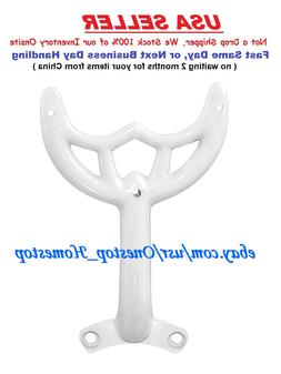 """36""""- 42"""" White Ceiling Fan Blade Arm, Replacement Bracket, H"""