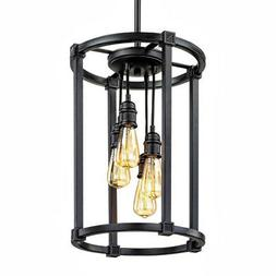 Home Decorators Collection HD-1264-I 4-Light Antique Bronze