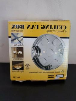 RACO INCORPORATED #295-DISC 4 RND Ceiling Pan