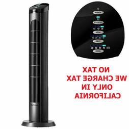"Cascade 40"" Tower Fan with Remote, Oscillation & Automatic S"