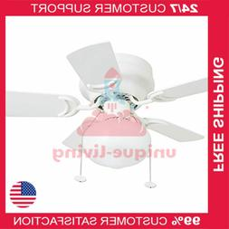 "Prominence Home 41530-01 Hero 28"" Hugger Small Ceiling Fan,"