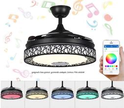 42 bluetooth invisible ceiling fan lamp 7