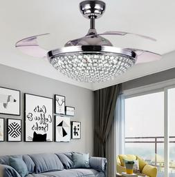 42 remote control led invisible ceiling fan