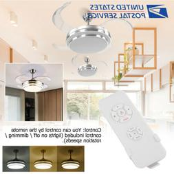 42 retractable led ceiling fan w changing