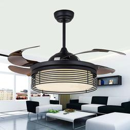 42 reversible blade semi flush mount ceiling