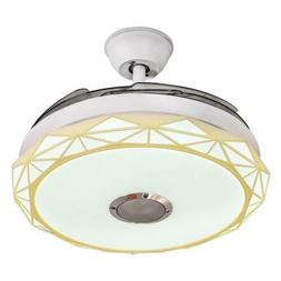 """42"""" Smart Bluetooth Music Player Chandeliers Invisible Ceili"""