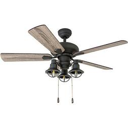 "Prominence Home 50814-01 Piercy Coastal Ceiling Fan , 42"", B"