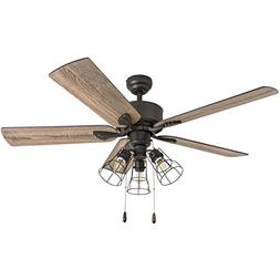Prominence Home 50684-01 Aspen Pines Farmhouse Ceiling Fan