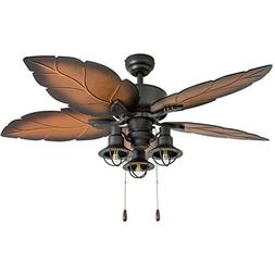 Prominence Home 50759-01 Ocean Crest Tropical Ceiling Fan ,
