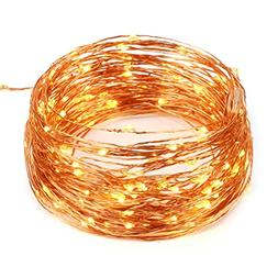 BMOUO String Lights, 3-Meter 30 LEDs Bright Warm White Rope