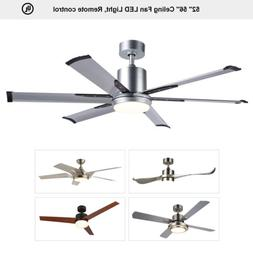 52 56 indoor ceiling fan with led