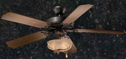 52 inch Rustic Lodge Country Cabin Antler Ceiling Fan