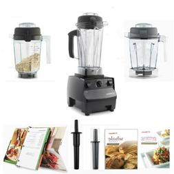 Vitamix 5200 Black Complete Kitchen Set, with 64oz Wet/48oz