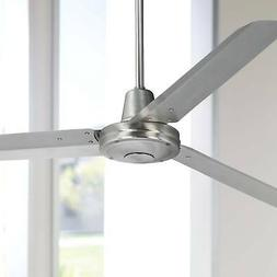 "60"" Turbina Brushed Steel Ceiling Fan"