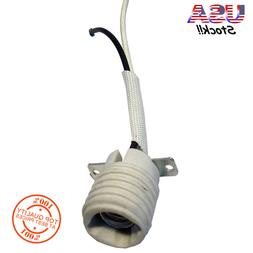 60-Watt White Lamp Socket replacement White Ceiling Fan Ligh