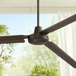 """72"""" Modern Outdoor Ceiling Fan Oil Rubbed Bronze Damp Rated"""