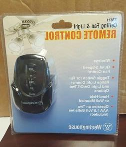 Westinghouse 7787100 Ceiling Fan and Light Remote Control