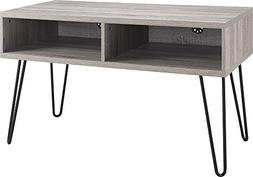 """Ameriwood Home Owen Retro TV Stand for TVs up to 42"""", Weathe"""