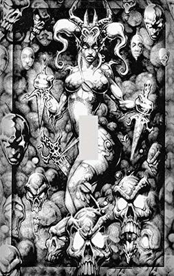 Demon Queen Decorative Switchplate Cover