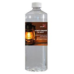 Firefly Candle and Lamp Oil - Smokeless & Odorless - Simply