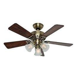 Hunter 53078 The Beacon Hill 42-Inch Ceiling Fan with Five R
