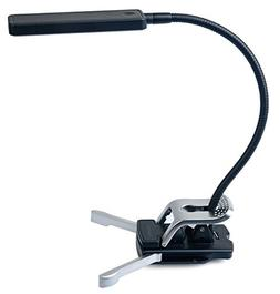 Ivation Multipurpose Gooseneck 7-LED Dimmable Clip Light wit