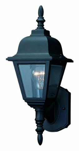 Maple Street Collection Outdoor Lighting Black Die-Cast Alum
