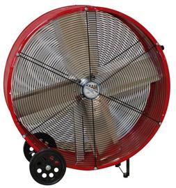 MaxxAir BF36DD RED High Velocity Direct Drive Drum Fan, 36-I
