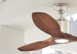 Reagan II 52 in. Brushed Nickel LED Ceiling Fan