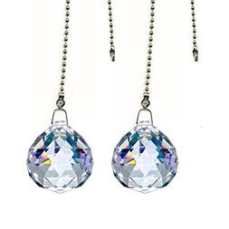 Gusnilo Magnificent Crystal 20mm Clear Crystal Ball Prism 4