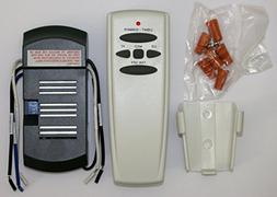 Universal Ceiling Fan Remote Control Kit for CFL and Regular