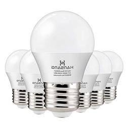Hansang A15 LED Bulb Light 6 Watt ,E26 Standard Base,5000K D