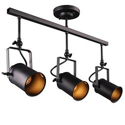 LALUZ Adjustable Track Lighting Ceiling Light 3-Light Spotli