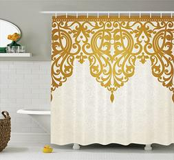 Ambesonne Antique Decor Shower Curtain by, Victorian Style M
