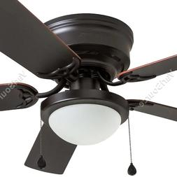 Harbor Breeze Armitage 52-in Bronze Indoor Ceiling Fan with