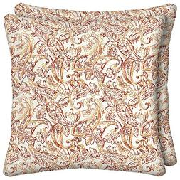 Ava Butterfly Square Outdoor Throw Pillow