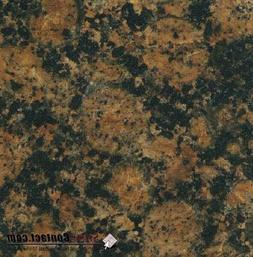 "2""x2"" Baltic Brown from Finland color sample natural granite"