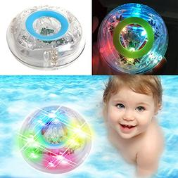 Cade Bath LED Light Toys Waterproof Funny Bathroom Bathing T