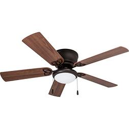 Prominence Home 40271-01 Brealey Hugger Ceiling Fan with LED