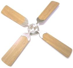 "Brushless  DC 12V  42"" Ceiling Fan for RV with Wall Control"