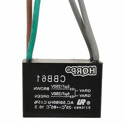 Capacitor CBB61 5uf+5uf 4-Wire Rated Voltage 250V for Harbor